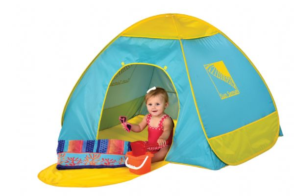 Infant 50+ UV / UPF Protection Pop Up Beach Garden Tent Play Shade Sun Shelter